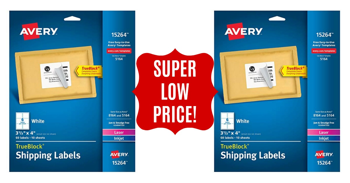 Avery Shipping Address Labels - DEAL Hot Coupon World