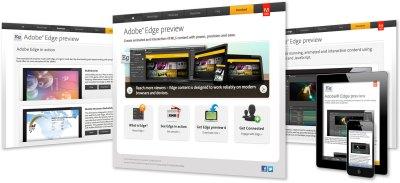 Adobe product launch microsite – Scott Design