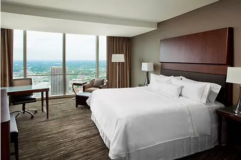 High End Hotel Style Bedroom Furniture / Guestroom