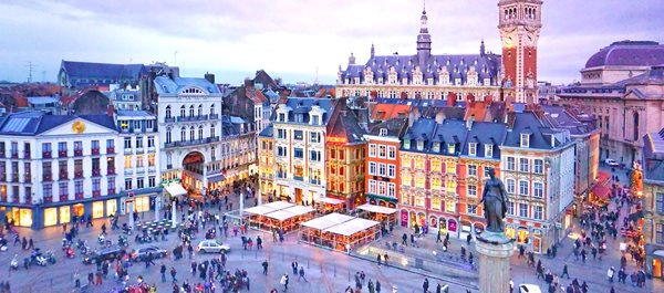 Lille France hotels under 100 dollars