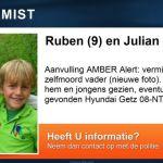 AMBER Alert: Ruben en Julian