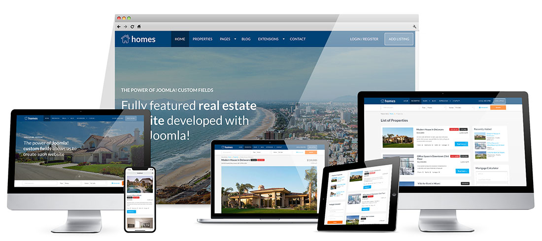 Real Estate Template - HotThemes
