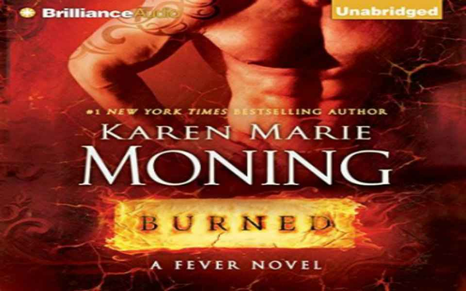 Burned by Karen Marie Moning Giveaway #audiobooks