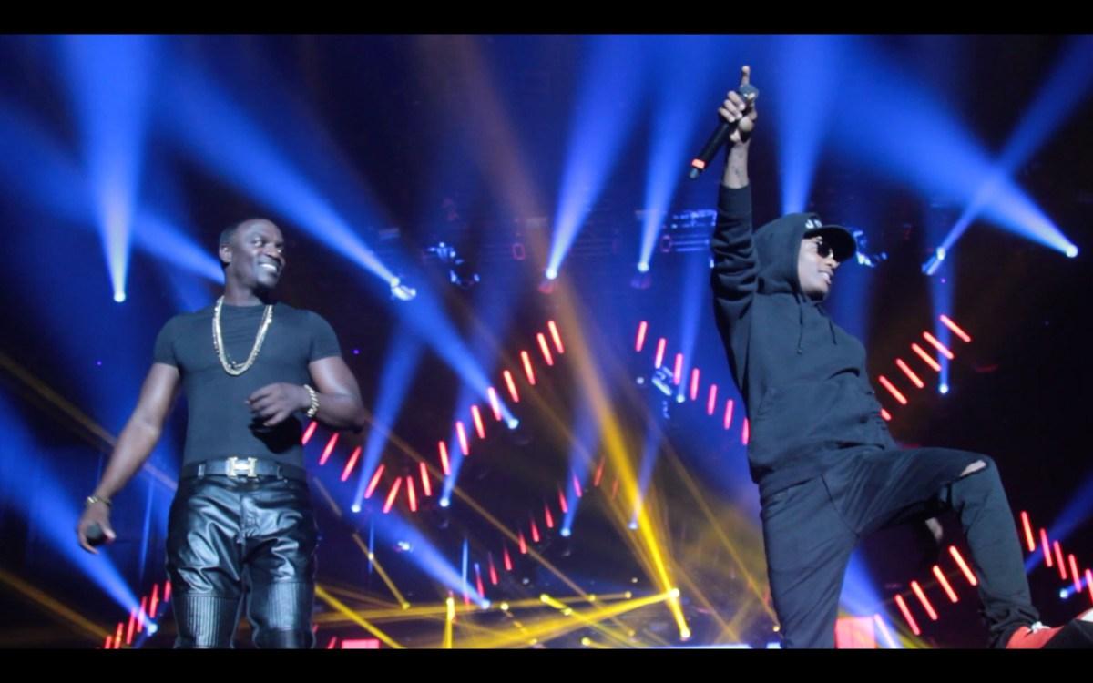VIDEO: AKon X WIzkid Live at Dance Afrique Summer fest
