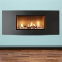 Gazco Studio Verve Mk2 Wall Mounted Gas Fire (Balanced ...