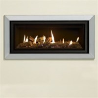 Gazco Studio Bauhaus Mk2 Wall Mounted Gas Fire (Balanced ...