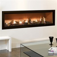 Gazco Studio Edge Mk2 Wall Mounted Gas Fire (Balanced Flue
