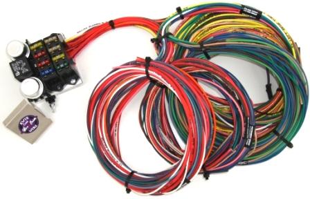 Kwik Wire 8 Circuit Street Rod Wiring Harness Hotrod Hotline