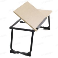 Portable Folding Stand Laptop Desk Wooden Lap Bed Tray ...