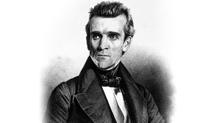 Young James K Polk