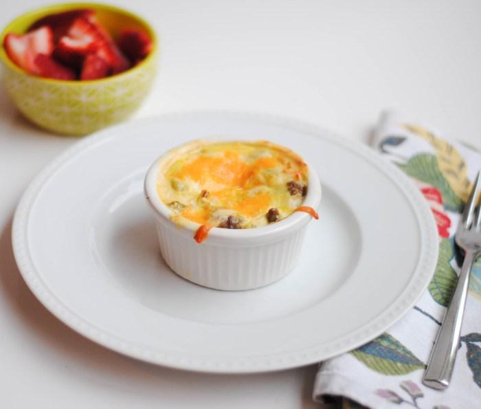 Cheesy Sausage Breakfast Casserole-2