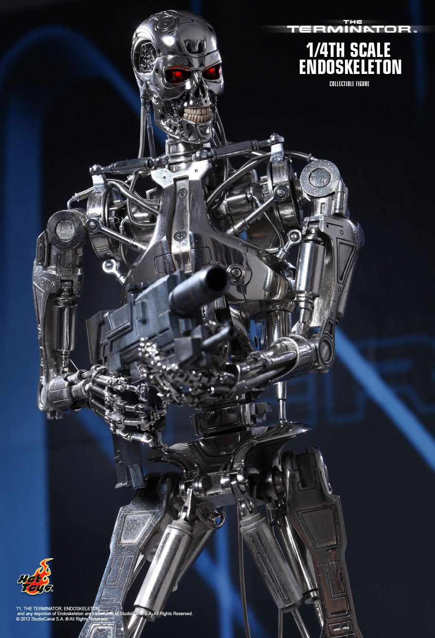 N Wallpaper 3d Hd Hot Toys The Terminator Endoskeleton 1 4th Scale