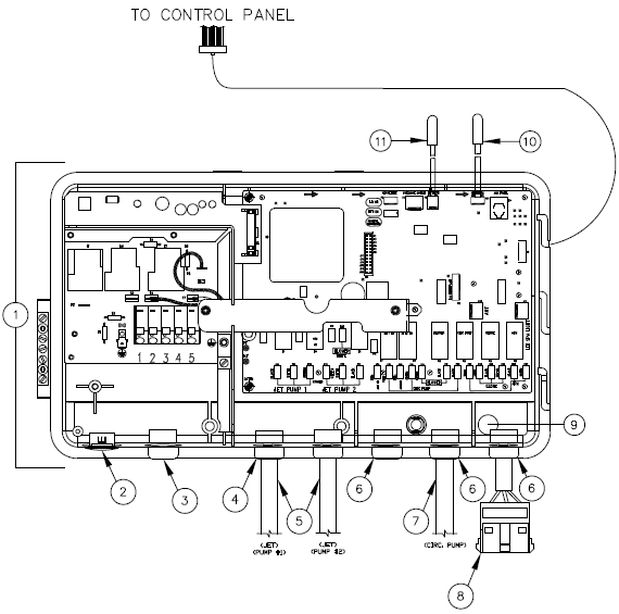 tiger river spas hot tub wiring diagram