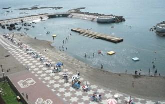 元和台海浜公園の「海のプール」