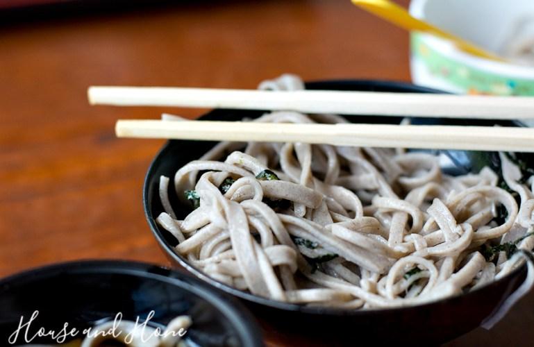 Soba Noodle Making
