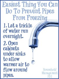 Tips To Prevent Frozen Water Pipes In Your Home