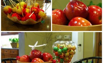 apples and chocolates