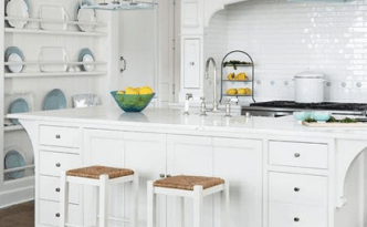 white kitchen - feature image