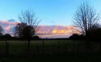 Sunset in Kent England - feature image