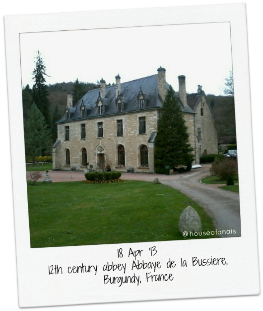 18 Apr 13 Abbaey Bussiere France