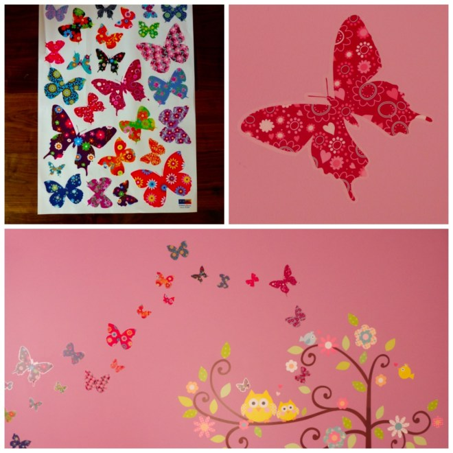 Butterflies set1 Collage