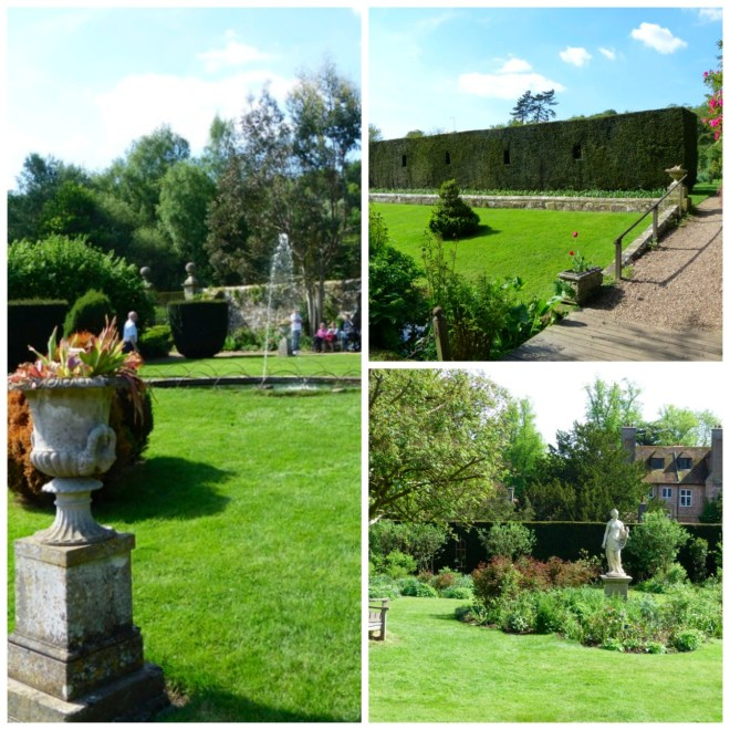 Groombridge Place - Formal Gardens Collage
