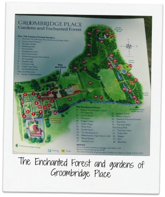 Groombridge Place map