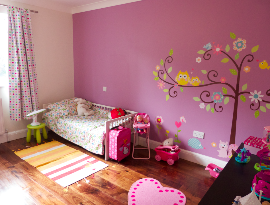 Making A House Into A Home Adding Colour To Kids Rooms