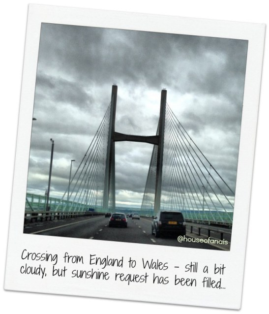 Crossing to Wales
