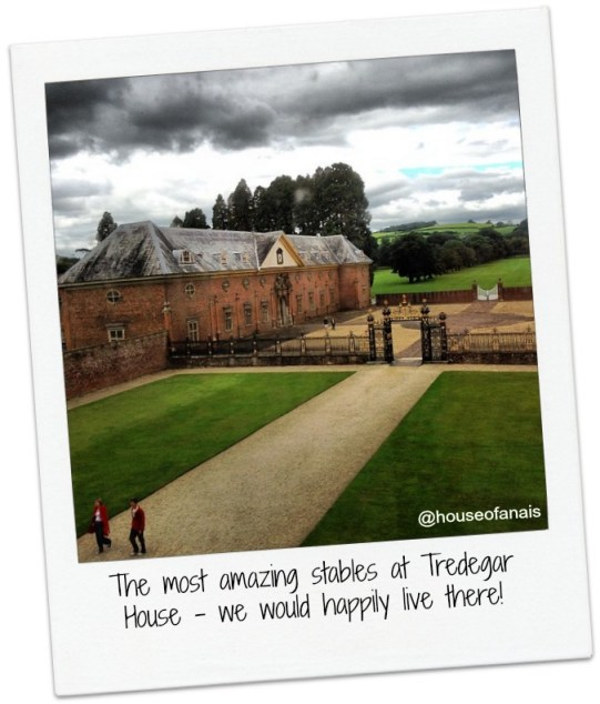NT Tredegar House stables