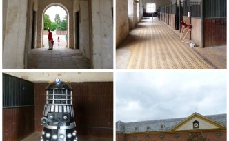 Dinefwr stables Collage