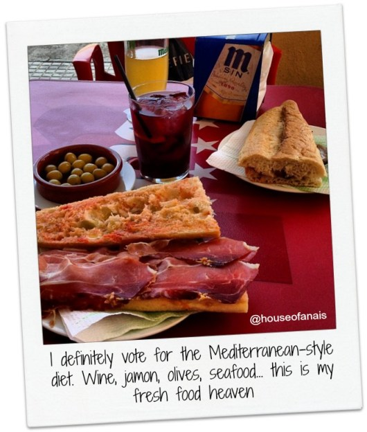 Mediterranean food bites