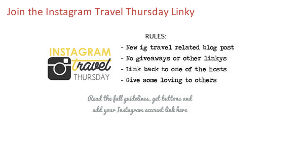 IG Travel Thursday Linky Rules