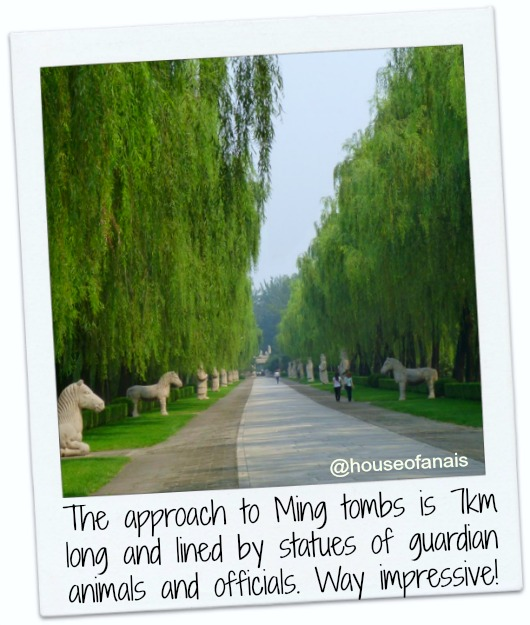 Ming Tombs approach