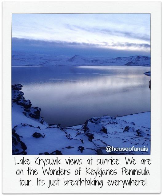 Lake Krysivuk Iceland