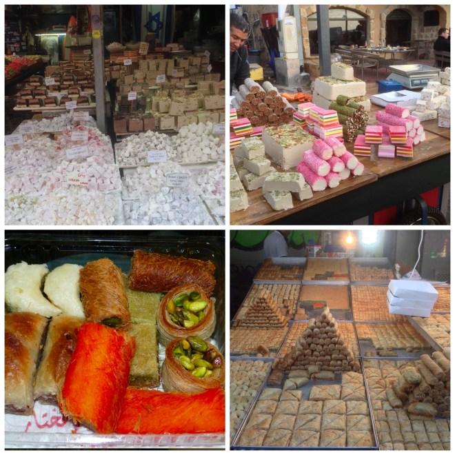 Israel pastries