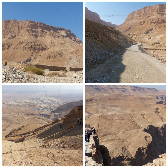 To Massada, Israel
