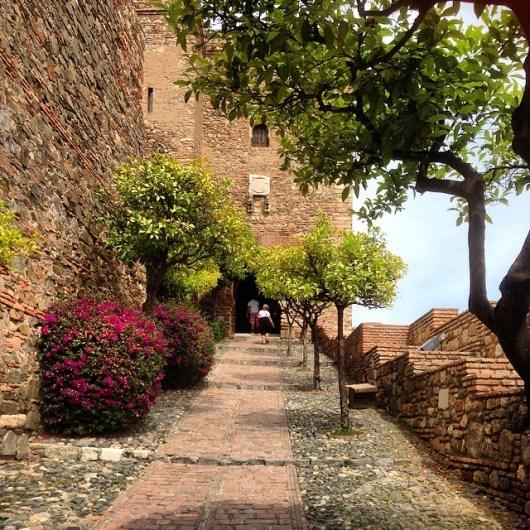 Coastal town Malaga in Andalucia, Spain