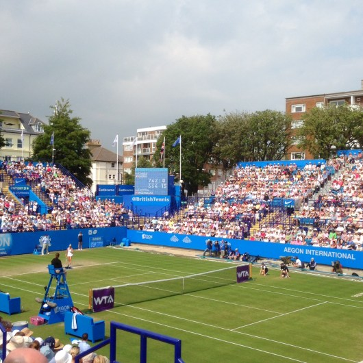 Pro tennis in Eastbourne