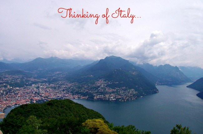 Thinking of Italy