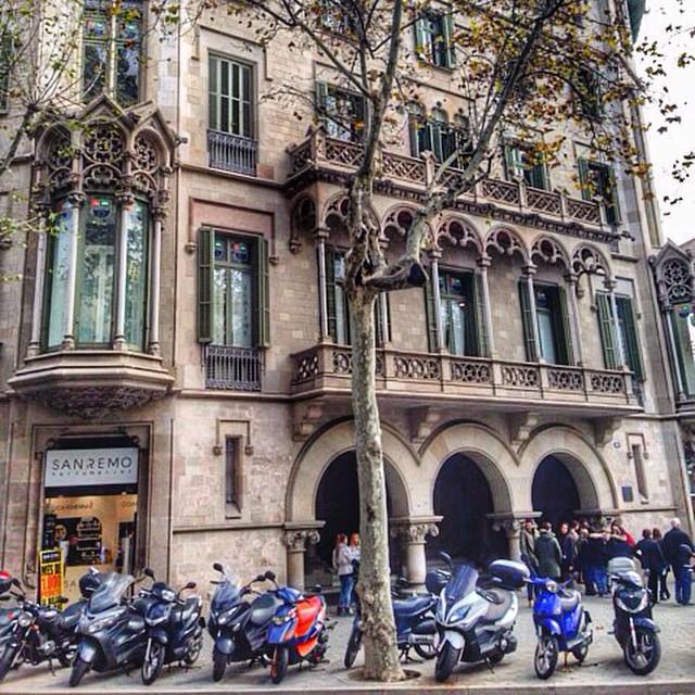 Barcelona in December  2