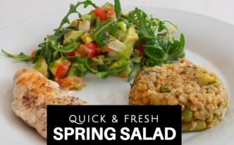 Spring Salad Logo