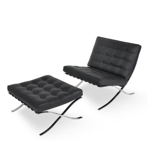 Medium Of Modern Chairs And Ottomans