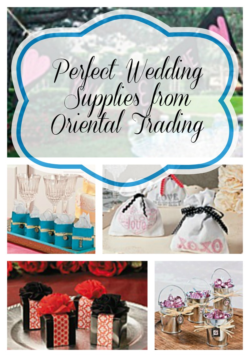 perfect wedding supplies from oriental trading wedding supplies Perfect Wedding Supplies from Oriental Trading Co