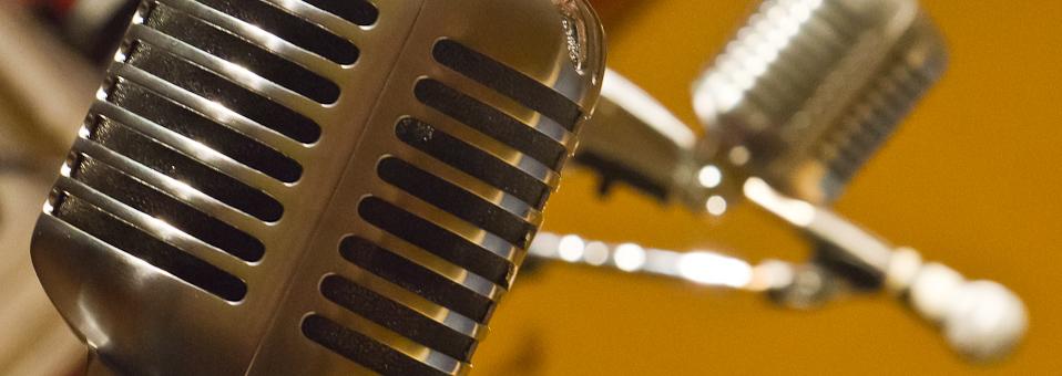 slide microphones