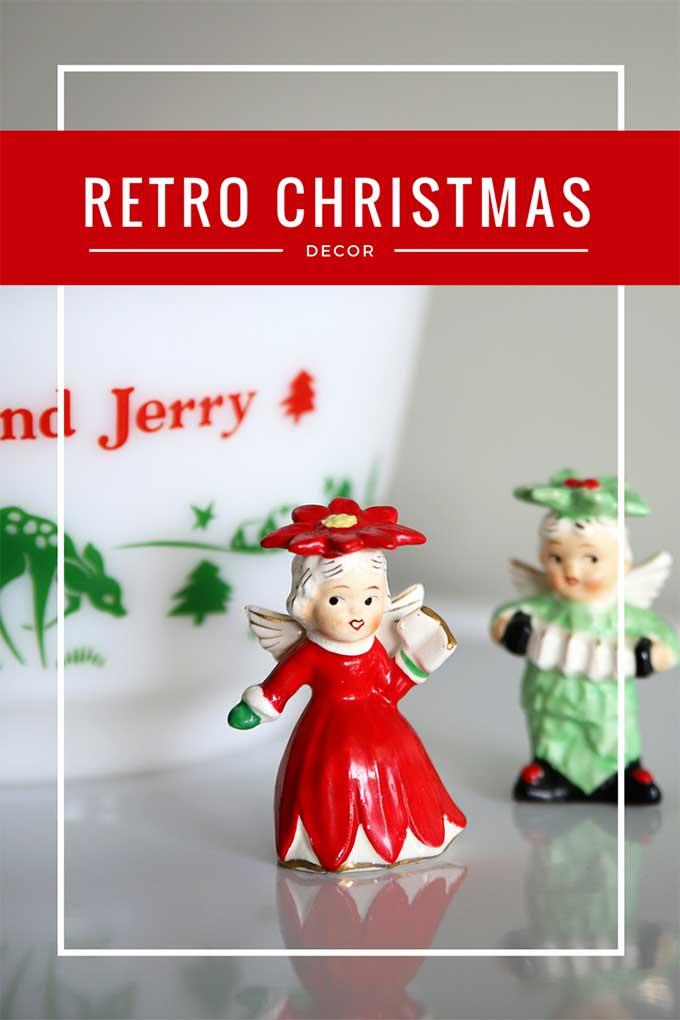Retro Christmas Decor Around The House - House of Hawthornes