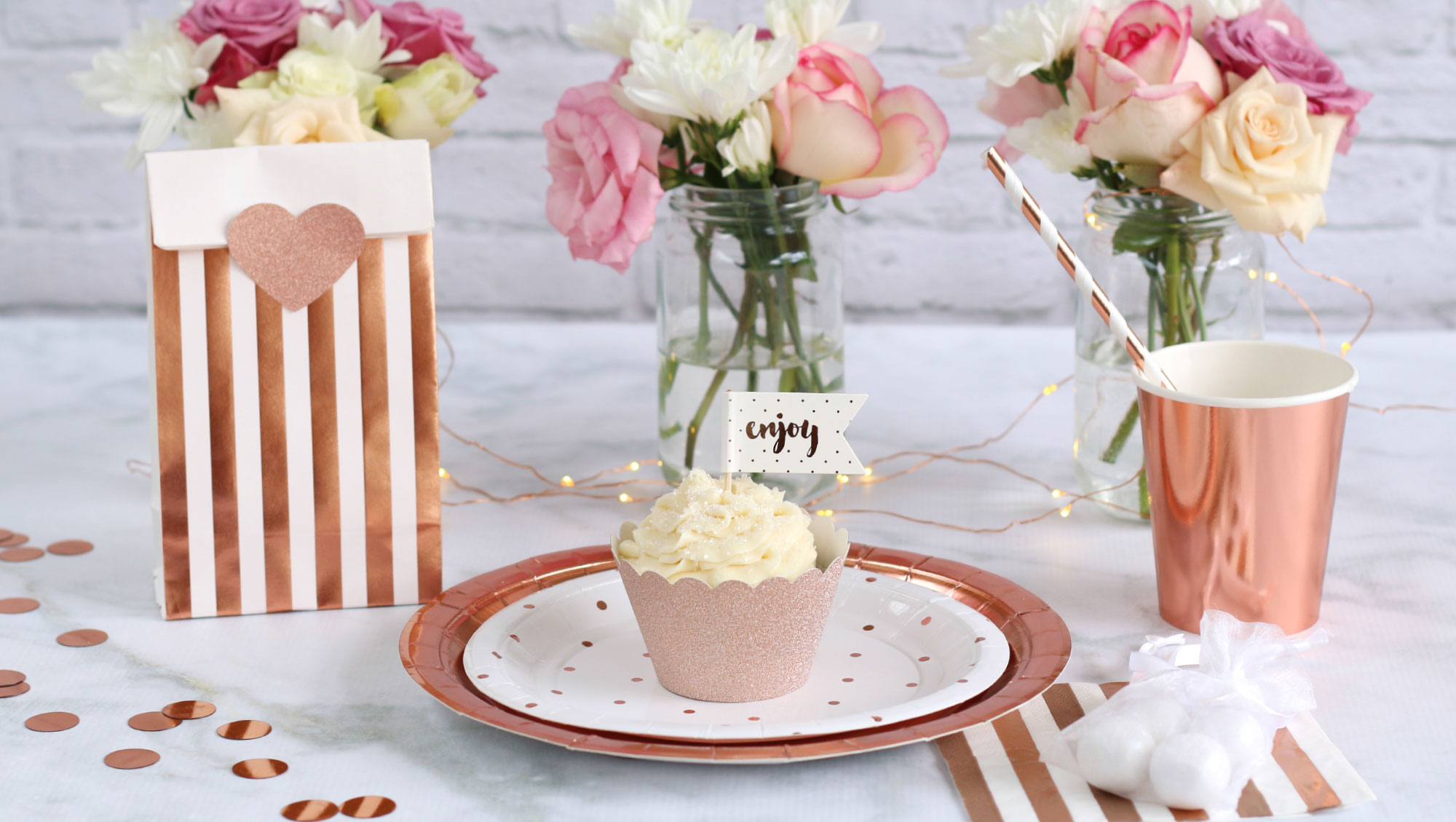 Trending Rose Gold Party Decorations House Of Party
