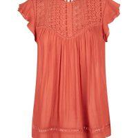 new-look-burnt-orangefrill-sleeve-top-2