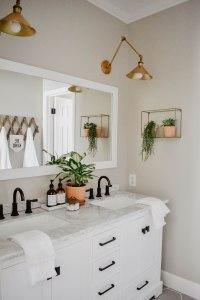 Modern Boho Bathroom Remodel | House On Longwood Lane