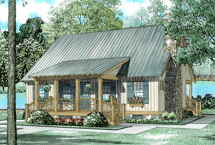 Farmhouse Plan 1374 Square Feet 3 Bedrooms 2 Bathrooms